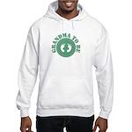 Grandma To Be (Green) Hooded Sweatshirt