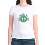 Grandma To Be (Green) Jr. Ringer T-Shirt