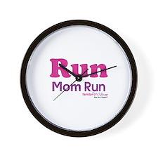 Run Mom Run Wall Clock
