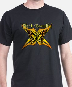 Life Is Beautiful - Butterfly T-Shirt