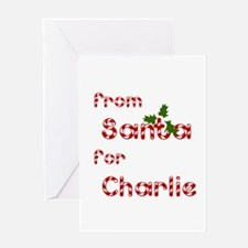 From Santa For Charlie Greeting Card