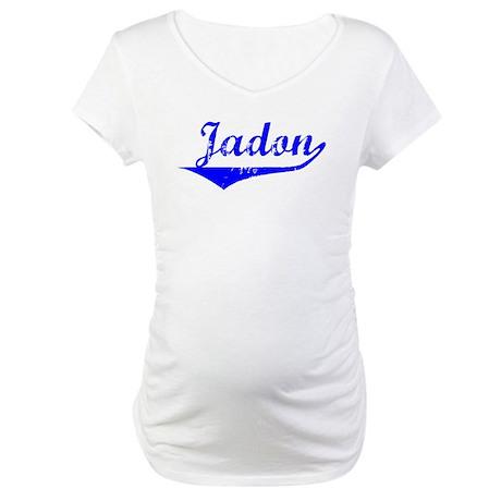 Jadon Vintage (Blue) Maternity T-Shirt