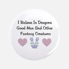 """Fantasy Creatures 3.5"""" Button"""