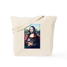 Mona Lisa Possum Tote Bag