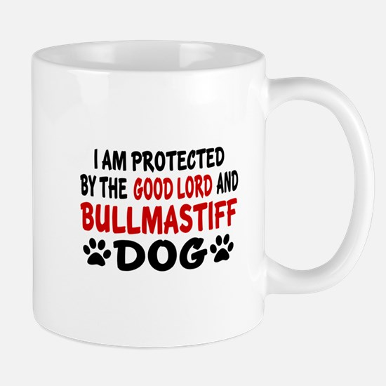 Protected By Bull mastiff Dog Mug