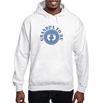Grandpa to be (Blue) Hooded Sweatshirt