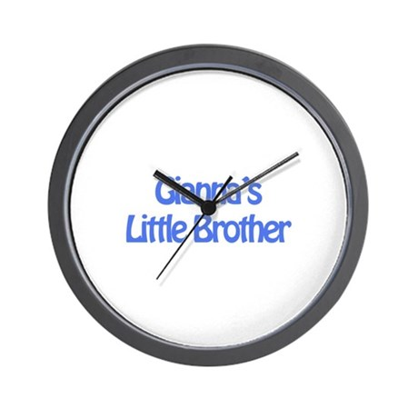 Gianna's Little Brother Wall Clock