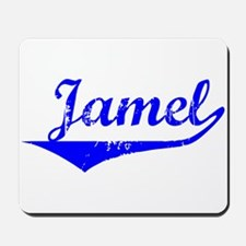 Jamel Vintage (Blue) Mousepad
