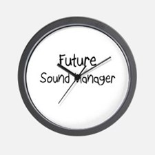 Future Sound Manager Wall Clock
