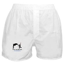 Flog the Dolphin Boxer Shorts