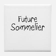 Future Sommelier Tile Coaster