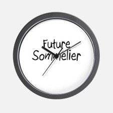 Future Sommelier Wall Clock
