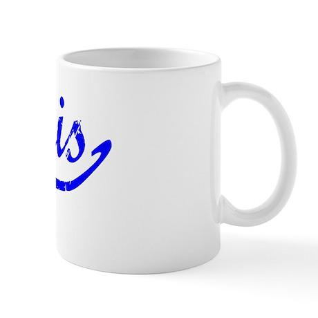 Jarvis Vintage (Blue) Mug