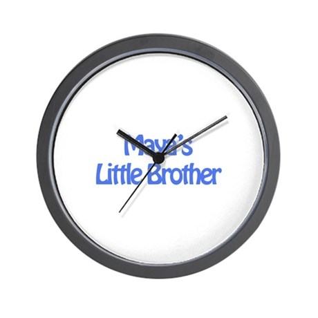 Maya's Little Brother Wall Clock