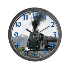 Steam Engine Wall Clock
