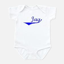 Jay Vintage (Blue) Infant Bodysuit
