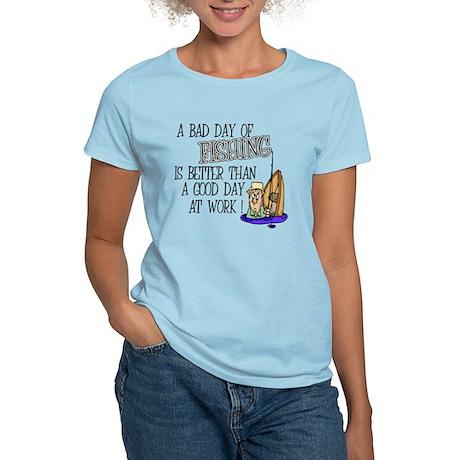 A Bad Day Of Fishing Women's Light T-Shirt