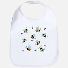 Honeybees Bzz Bzz Bib