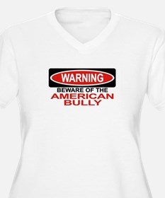 AMERICAN BULLY Womes Plus-Size V-Neck T-Shirt