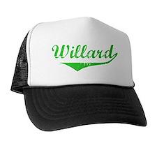 Willard Vintage (Green) Trucker Hat