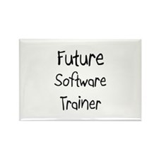 Future Software Trainer Rectangle Magnet