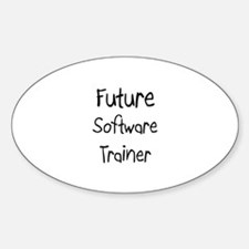Future Software Trainer Oval Decal