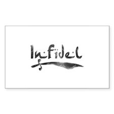 Infidel Rectangle Decal