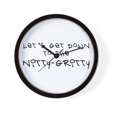 Nitty-Gritty 1 - Nacho Wall Clock