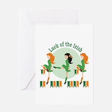 Luck Of Irish Greeting Cards
