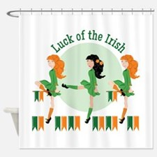 Luck Of Irish Shower Curtain