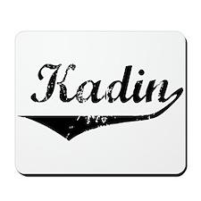 Kadin Vintage (Black) Mousepad
