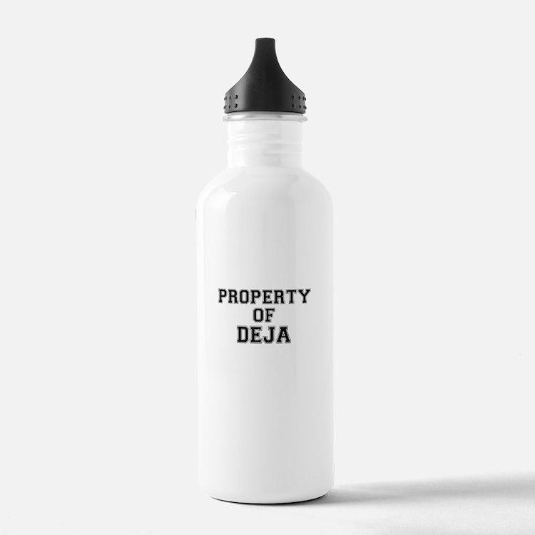 Property of DEJA Water Bottle