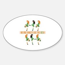 Dance Like Irish Decal