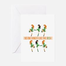 Dance Like Irish Greeting Cards