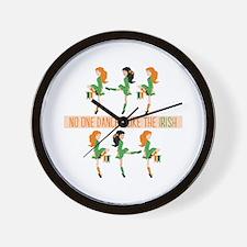 Dance Like Irish Wall Clock