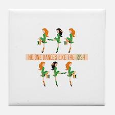 Dance Like Irish Tile Coaster