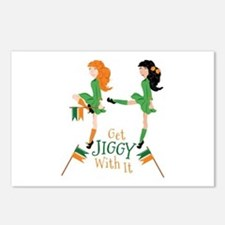 Get Jiggy Postcards (Package of 8)
