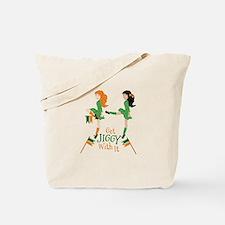 Get Jiggy Tote Bag