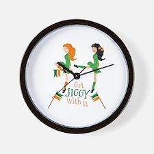 Get Jiggy Wall Clock