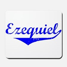 Ezequiel Vintage (Blue) Mousepad