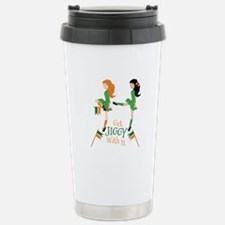 Get Jiggy Travel Mug