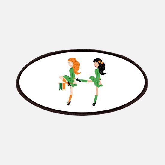 Irish Dancer Patch