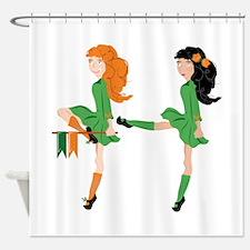 Irish Dancer Shower Curtain