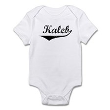 Kaleb Vintage (Black) Infant Bodysuit