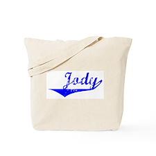 Jody Vintage (Blue) Tote Bag