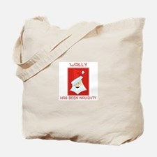 WALLY has been naughty Tote Bag
