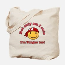 Not only am I cute I'm Tongan too Tote Bag