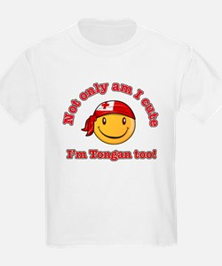 Not only am I cute I'm Tongan too T-Shirt
