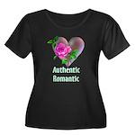 Authentic Romantic Women's Plus Size Scoop Neck Da