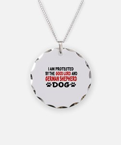 Protected By German Shepherd Necklace